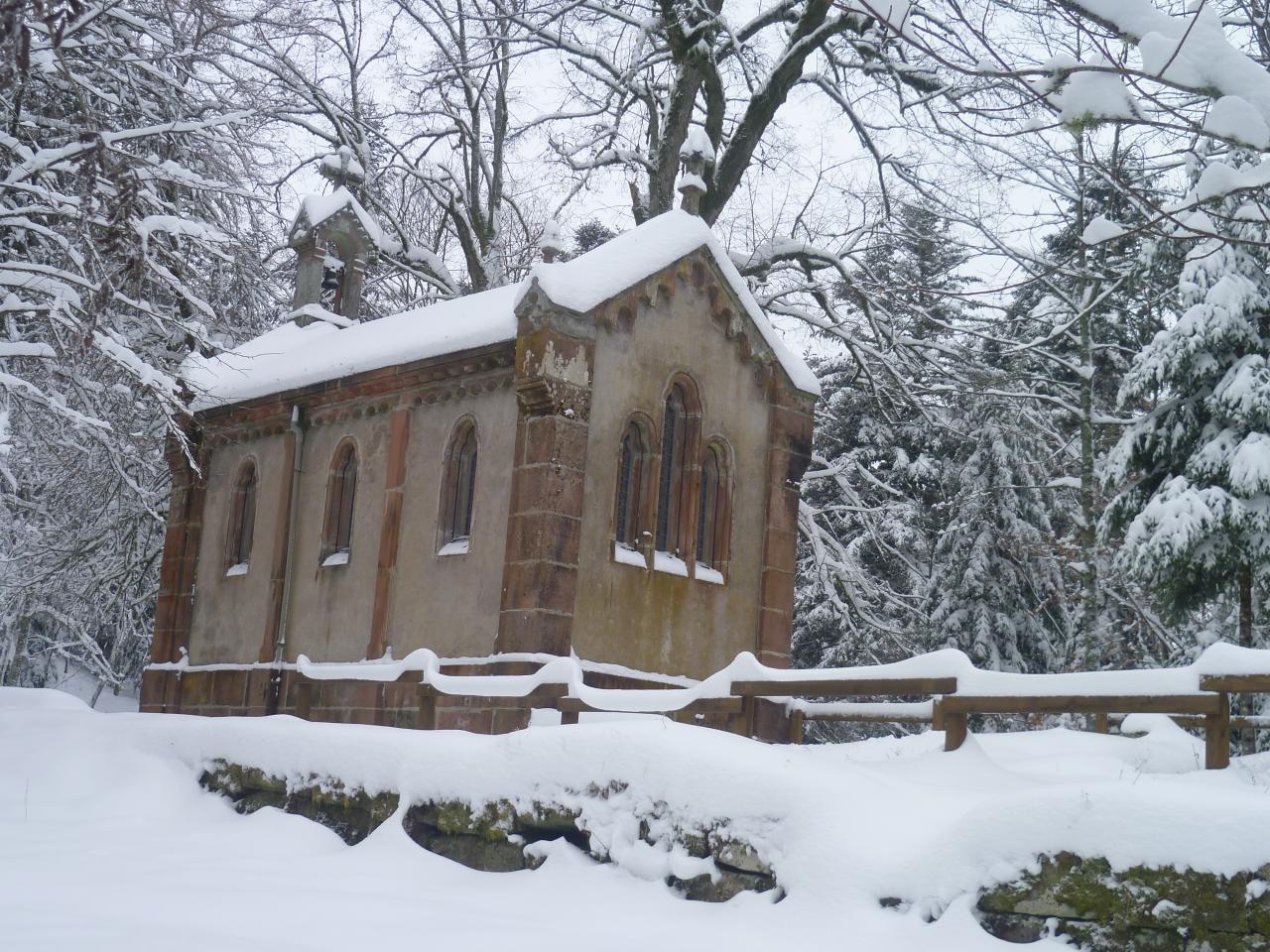 Chapelle Lac de la Maix